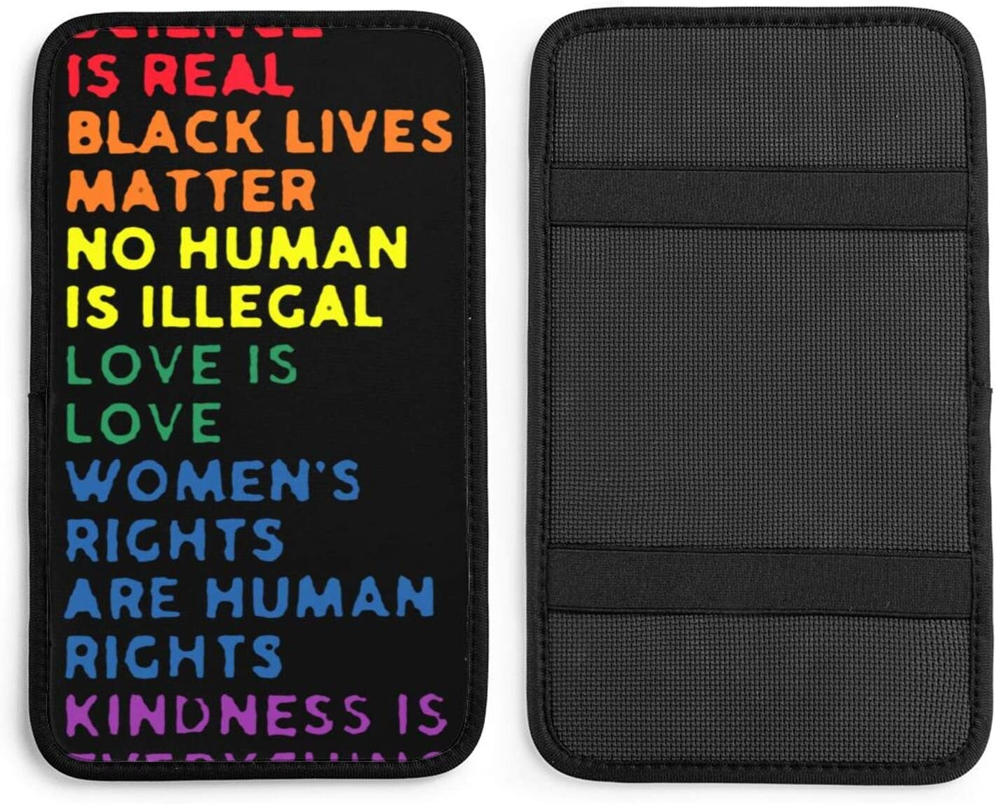 Science is Real Black Lives Car Box Central Cont Weekly New Free Shipping update Armrest Cushion