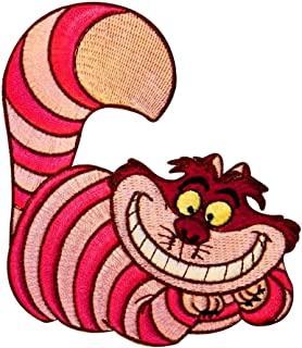 Cheshire Cat Patch Alice in Wonderland Movie Character Iron On Applique