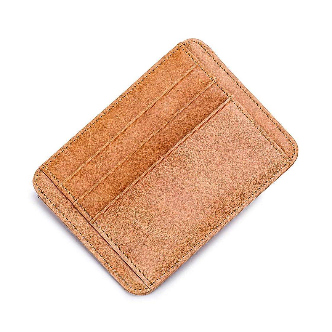 違うヒギンズ取得Turshell クレジットカード 小銭入れ カード 収納 本革 薄い財布 男女兼用