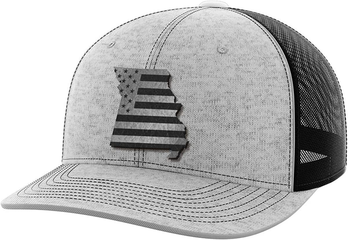 Missouri United Black Patch Hat