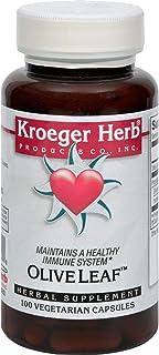 Kroeger Herb Herb Co Olive Leaf - 100 Caps