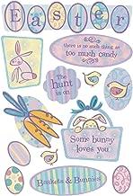 KAREN FOSTER Design Acid and Lignin Free Scrapbooking Sticker Sheet, Easter Hunt