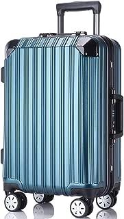 レーズ(Reezu) スーツケース 軽量 キャリーバッグ アルミフレーム キャリーケース TSAロック付 8輪 アルミ合金製 耐衝撃 旅行出張 1年保証