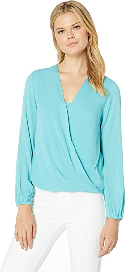 Layered Drape Front Top