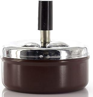 Hemore en Acier Inoxydable Cendrier Portable Cendrier Circulaire 4/en 1/pcs