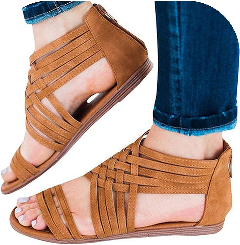 Women Sandals Plus Size 43 Flat Sandals Summer Women shoes Light Female shoes
