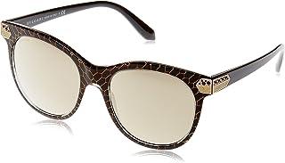Bulgari 0BV8185B 54215A 55 Gafas de sol Negro (Crystal Gold MeshBlackLightbrownmirrorgold) Unisex-Adulto