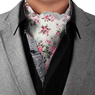 Men's Fashion Cotton Cravat Men's Ascot Tie Extra Long Size 53