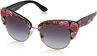 d6d1709de8 Dolce & Gabbana 0Dg4277 Gafas de sol, Print Rose On Black, 52 para Mujer