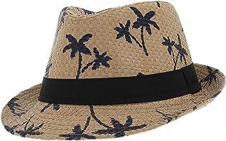 27825af5 La Vogue Sombrero de Paja Niño/a Gorra Verano Casual Circunferencia 54cm