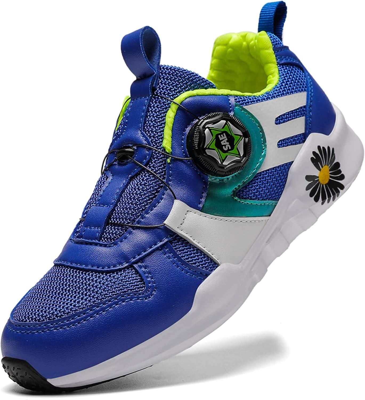 NOXNEX Boys Girls Sneakers Kids Running Sports Athletic Non-Slip Shoes for Little Kids/Big Kids