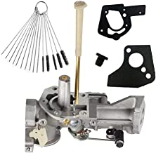 Dosens 498298 Carburetor Replacement for Briggs & Stratton 498298 692784 495951 492611 490533 495426 Carb with Gasket & Carbon Dirt Jet Cleaner Tool Kit