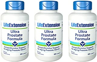 Life Extension Ultra Prostate Formula, 60 Softgels (Pack of 3)