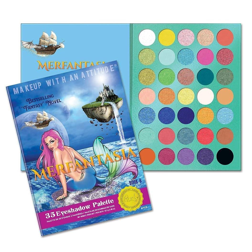 大脳悲しむヒューマニスティック(6 Pack) RUDE? Merfantasia 35 Eyeshadow Palette - Book 8 (並行輸入品)