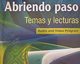 ABRIENDO PASO LECTURA 2014 AUDIO PROGRAM DVD GRADE 12