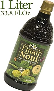 Fijian Noni Juice 100% Pure Certified Organic from Fiji. Rich in Antioxidants. Deal of The Day (Single 1 Litre Bottle 1000...