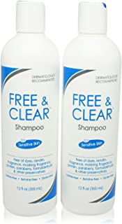Pharmaceutical Specialties Free and Clear Shampoo 12 oz. (Pack of 2)