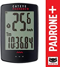 CAT EYE - Padrone Plus Wireless Bike Computer, Black