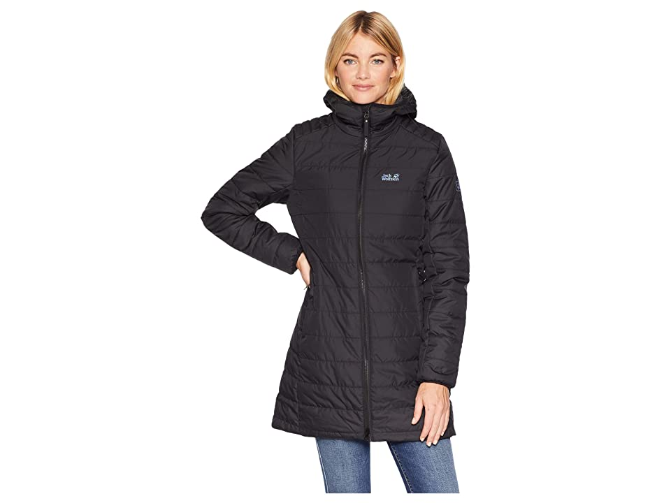 Jack Wolfskin Maryland Insulated Coat (Black) Women