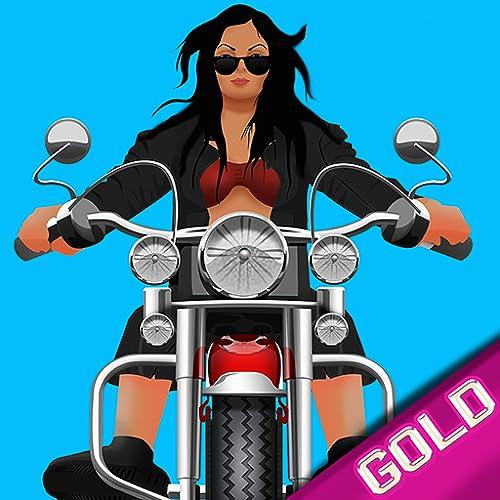 Speed Biker Gang : la motocicleta rápida carrera en el desierto mortal - gold edition