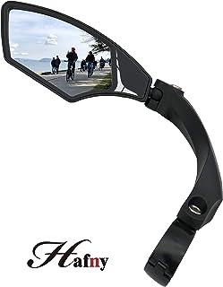 Hafny New Handlebar Bike Mirror, HD,Blast-Resistant, Glass Lens, HF-MR095