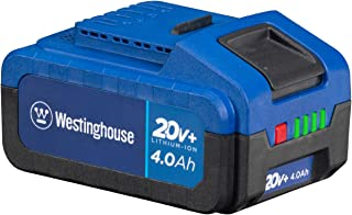 Westinghouse 20V 4.0 Ah Lithium-ion Battery for 20V+ Cordless Tools