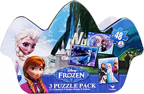 Tienda de moda y compras online. Frozen Specialty Specialty Specialty Tin Puzzle (48-Piece) by Frozen (English Manual)  moda clasica