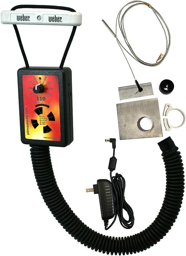 pitmasterIQ IQ110 BBQ Temperature Regulator Kit - Capable Predecessor