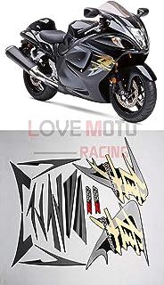 LoveMoto Calcoman/ía para veh/ículo Completo Rojo /& Negro Kit Completo de calcoman/ías para Moto 08-15 GSXR 1300 Hayabusa 2008-2015