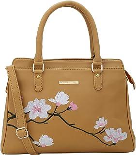 Lapis O Lupo Women's Handbag (LLHB0039MD_Mustard Yellow)