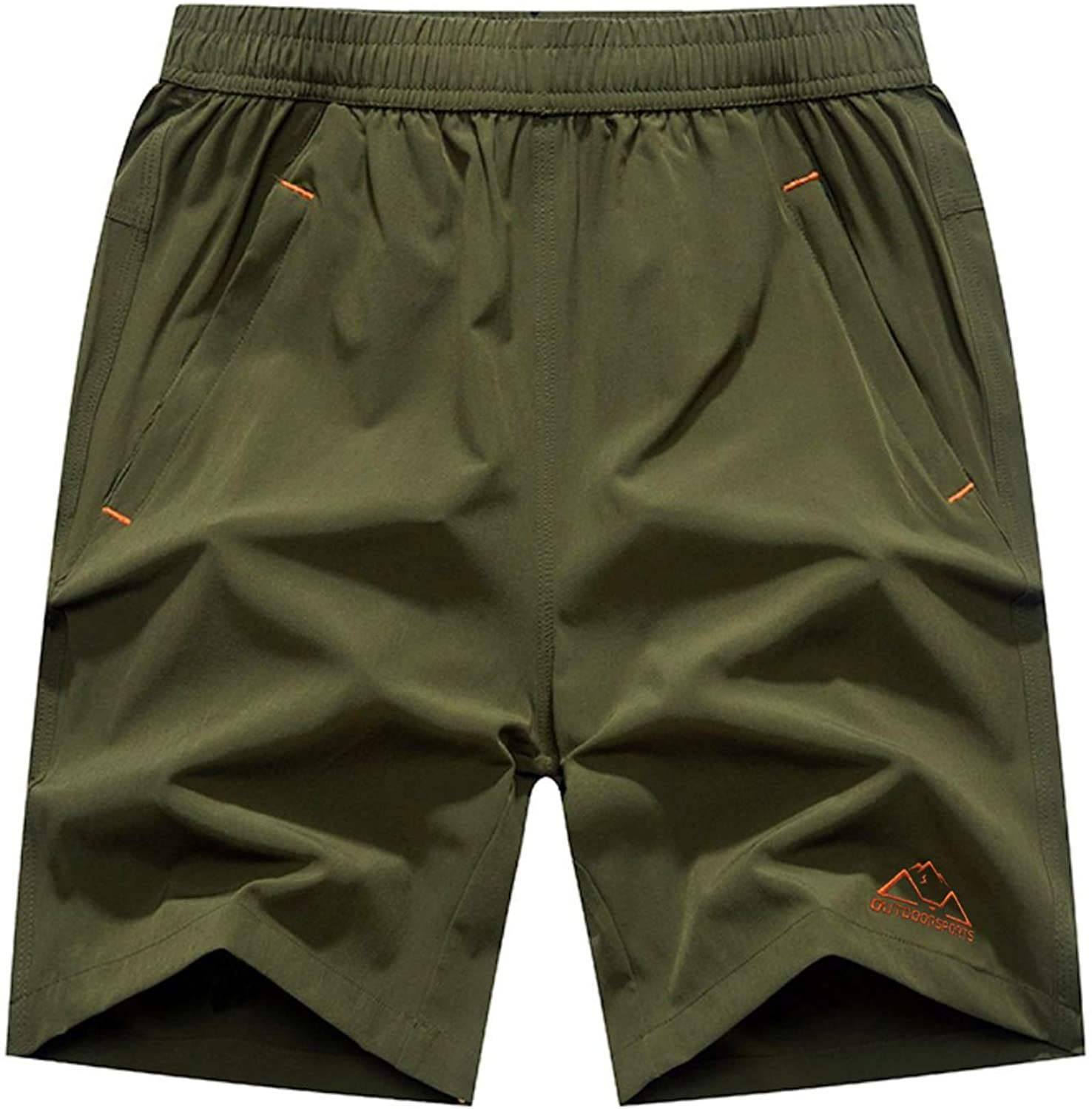 Rdruko Men's Quick Dry Fixed price for sale Max 56% OFF Hiking Running Shorts Workout Lightweight