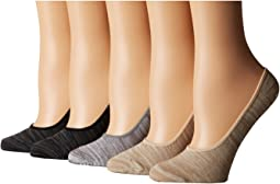 5-Pack Marl Footie