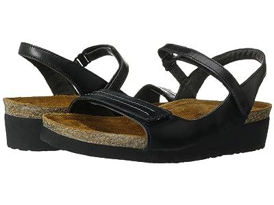 Naot Madison (Black Madras Leather) Women