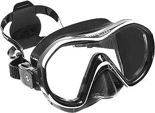 AQUALUNG(アクアラング)リヴィール X1(1眼タイプ)マスク ブラックホワイト/ブラックシリコン[121050]
