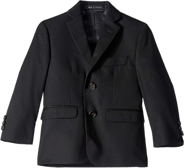 LAUREN RALPH LAUREN Boy's Classic Suit Separate Jacket (Little Kids/Big Kids) Black 5 Little Kids