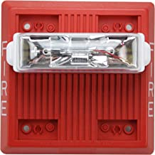 Wheelock Mt-24Mcw-Fr Mt-24Mcw Red Wall Mount Fire Alarm Multitone Signal Strobe