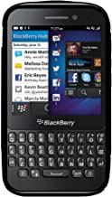 Amzer AMZ95969 Dual Tone TPU Hybrid Skin Fit Case Cover for BlackBerry Q5 - Retail Packaging - Black
