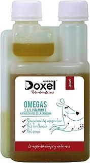 Doxel Sport -250ml Aceite para Perros | Suplementos Naturales nutricionales | Antioxidantes| Recuperación Muscular| Articulaciones sanas |Sistema inmunitario Reforzado| Canicross| Agility| Mushing