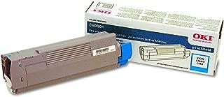 Okidata Cyan Toner Cartridge OEM C6000, C6050 Series (43324468)