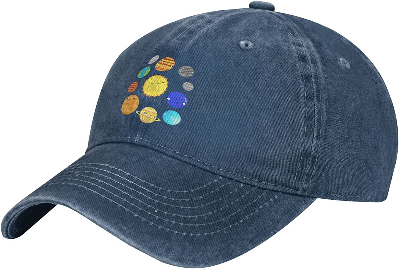 TYTland Solar System Youth New popularity Adjustable Trucker Very popular Baseball Cap Hats