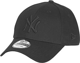 Gorra de béisbol, de la marca New Era, de los York Yankees, básica, con diseño 9Forty, para hombre, hombre, 20022, negro, talla única