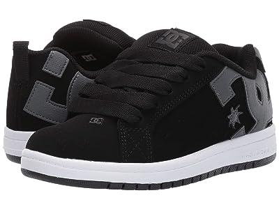 DC Kids Court Graffik (Little Kid/Big Kid) (Black/Grey) Boys Shoes