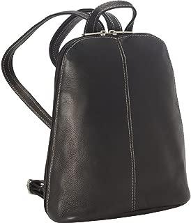 Royce Leather Vaquetta Zip Around Sling Backpack