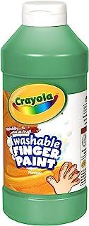 Crayola Fingerpaint, Green, 32 Ounces, Washable Kids Paint, Ages 3+