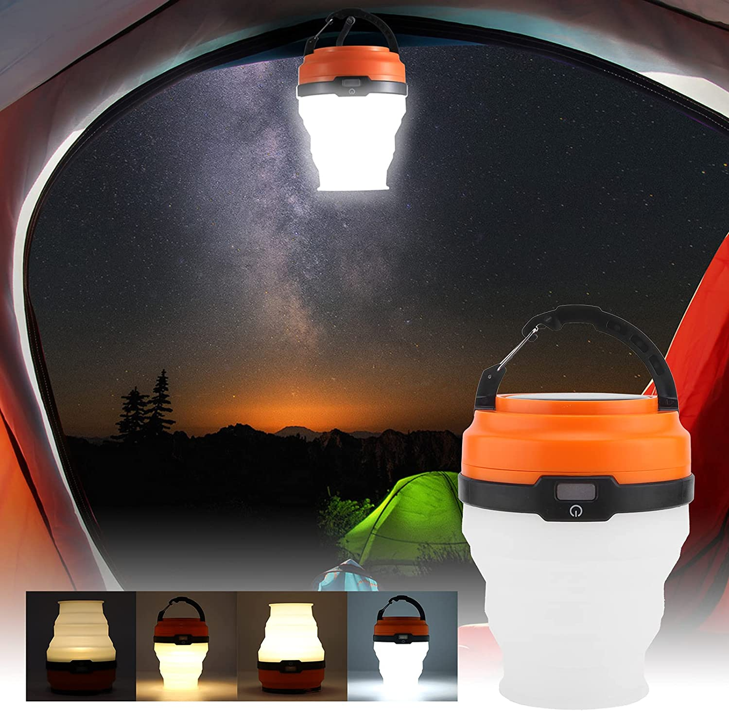 RBSD Camping Lamp Night Light Foldab Rechargeable Kansas Industry No. 1 City Mall