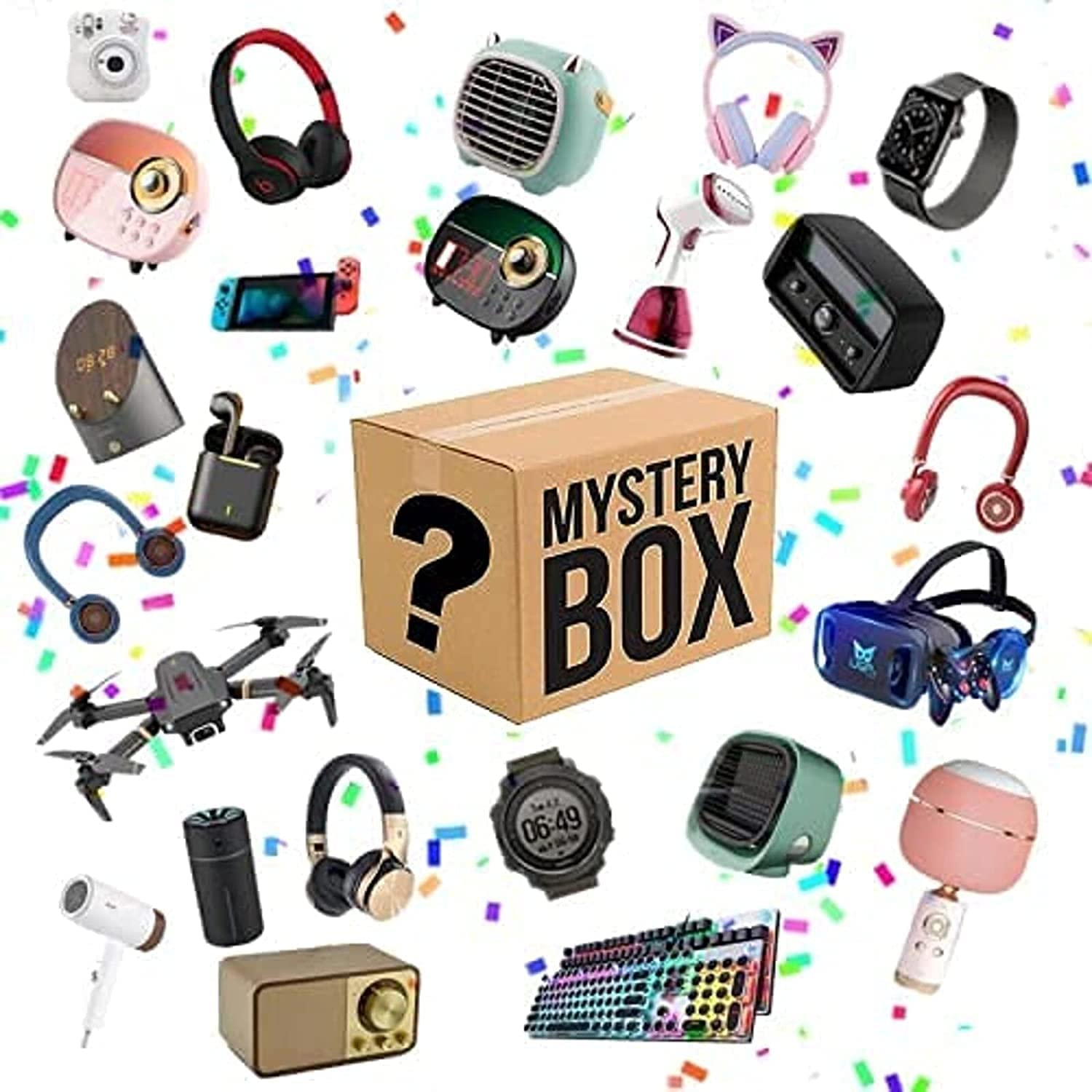 Luxury goods Lucky Box Mystery Super sale period limited Boxes Blind Super Electronic Cost