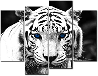 Best tiger paintings on canvas Reviews