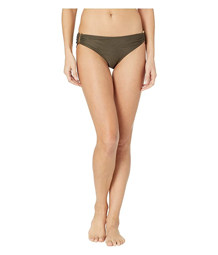 Vince Camuto Pacific Wave Texture Smooth Fit Bikini Bottoms (Bonsai) Women