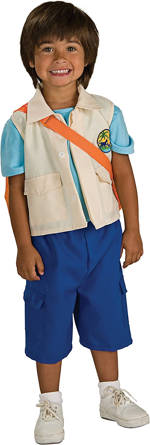 Rubies Go Manufacturer OFFicial shop Diego Complete Free Shipping Deluxe Child Costume