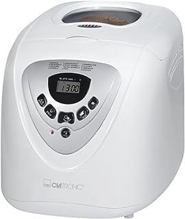 comprar comparacion Clatronic BBA 3505 Panificadora programable, capacidad 1 kg, 12 programas cocción, 39 posibilidades, 600 W, 2 litros, Plás...